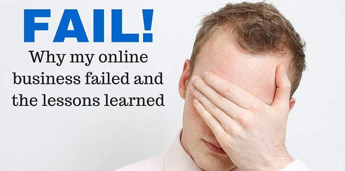 online business failure